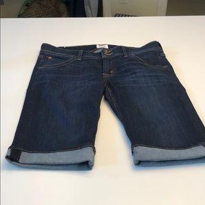 Hudson Brand denim jean shorts - size 30